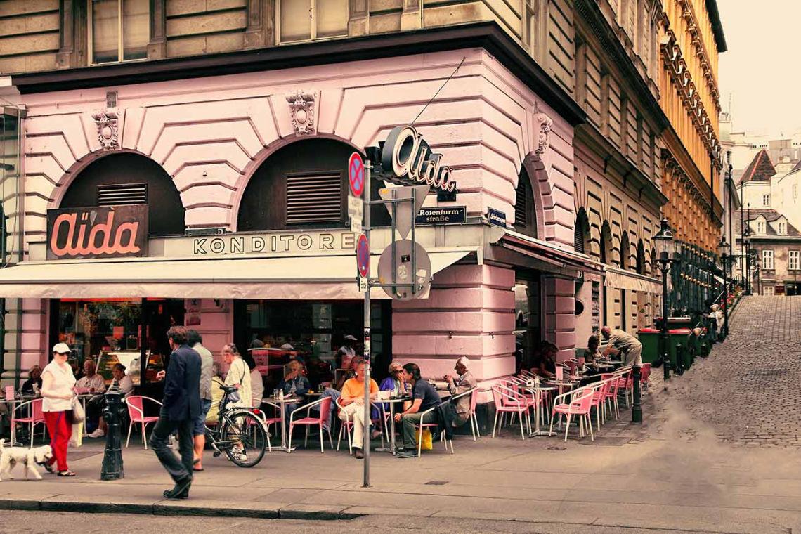 Cukráreň Aida vo Viedni