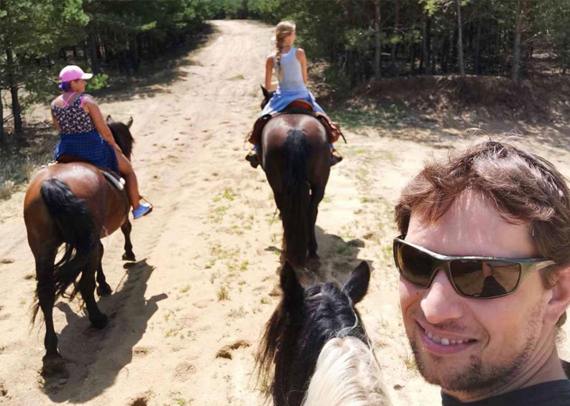 Medzi najväčšie vášne Martina Hanulu patria kone...