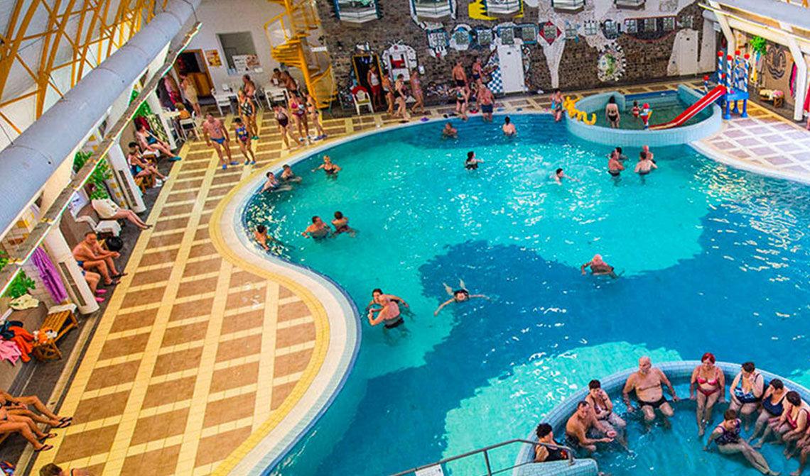 Thermal Corvinus, vnutorné bazény