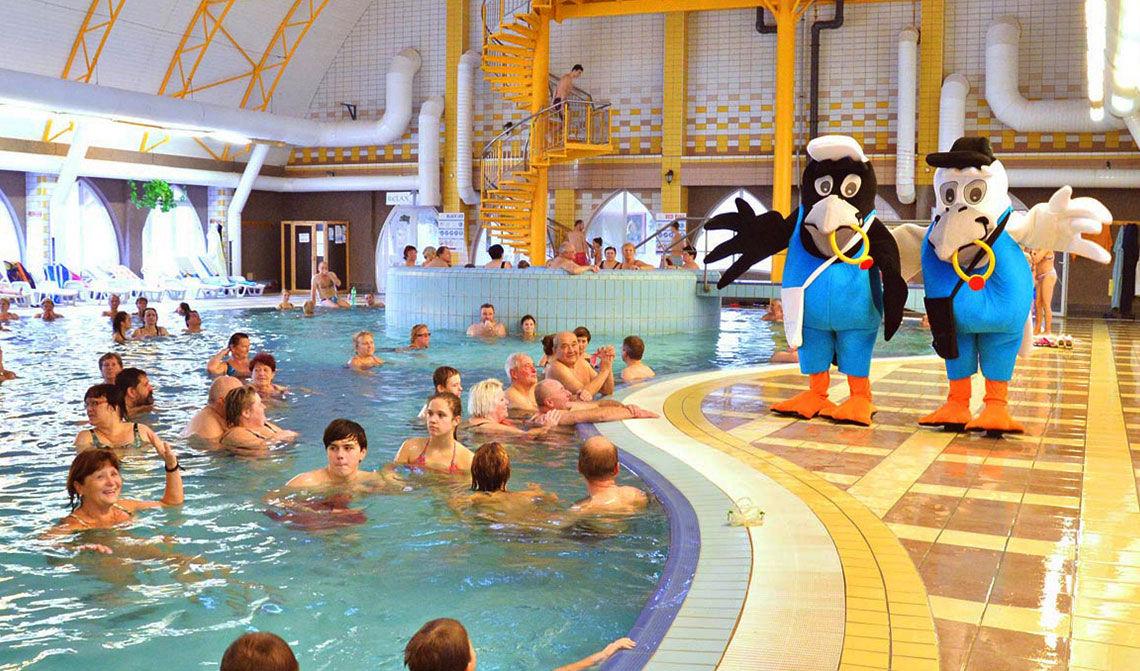 Thermal Corvinus, vnútorné bazény