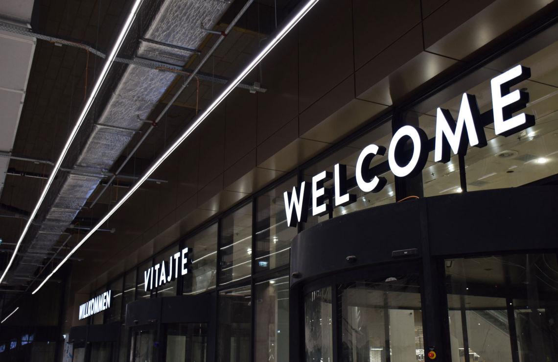 Vitajte, Willkommen, Welcome